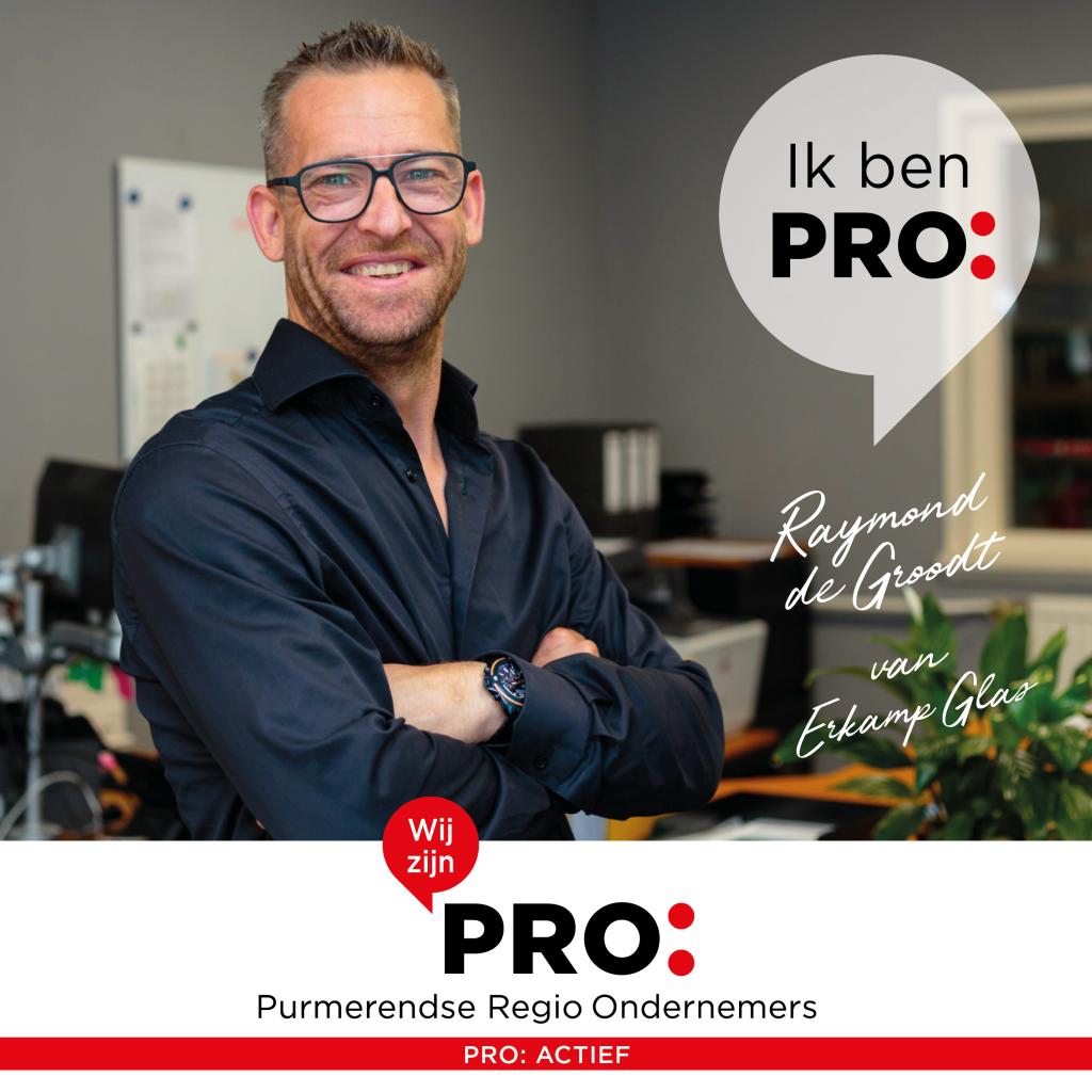 Nieuw PRO: lid Erkamp Glas Purmerend