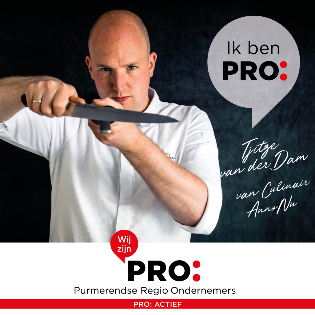 Nieuw PRO: lid Culinair AnnoNu